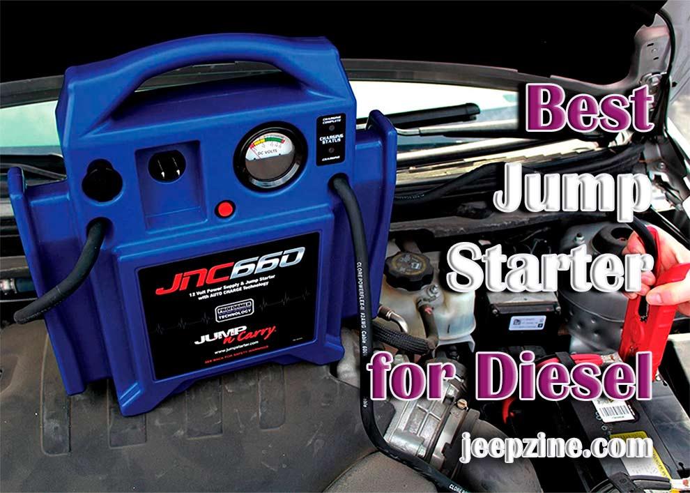 Best Jump Starter for Diesel