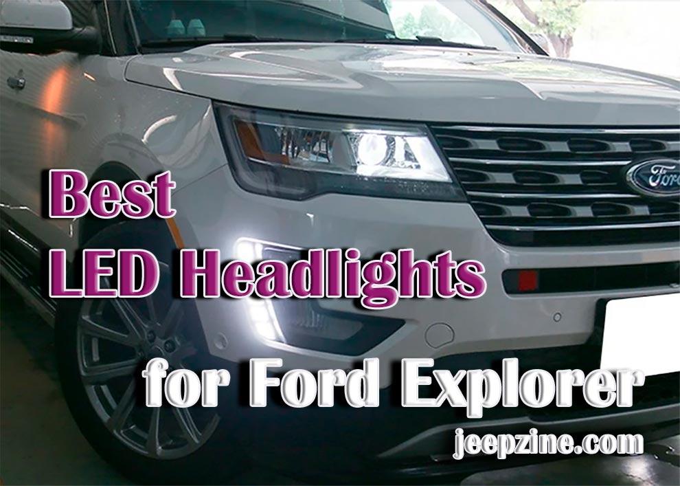 Best LED Headlights for Ford Explorer